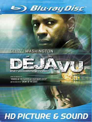 DEJA VU BY WASHINGTON,DENZEL (Blu-Ray)